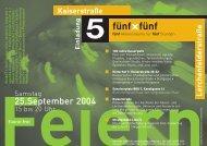 Download Kurzprogramm in pdf - wolke 7