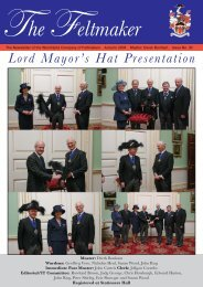 Feltmaker NEW PAGE ORDER - The Worshipful Company of ...