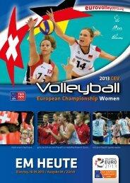 10. September: EM-Heute - Swiss Volley