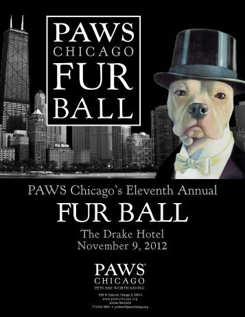 """1""""84 - PAWS Chicago's 2012 Fur Ball"""