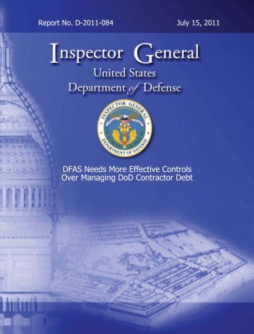 Department of Defense Office of Inspector General - Federal News ...