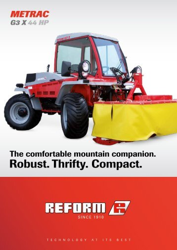 Robust. Thrifty. Compact. - Reform