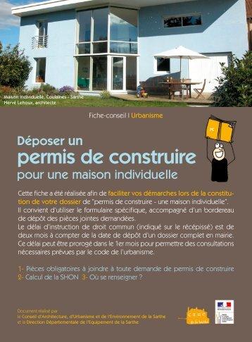 Déposer un permis de construire - CAUE