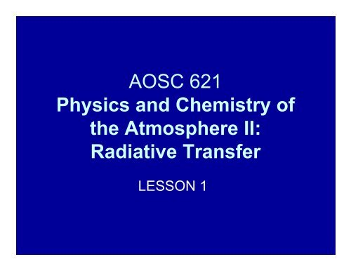 Lesson1-1 Introduction 2012.pdf - Atmospheric and Oceanic Science