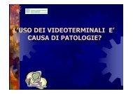 Disturbi Vdt - Ordine Provinciale dei Medici Chirurghi e degli ...