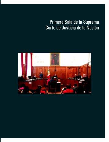 Primera Sala de la Suprema Corte de Justicia de la Nación