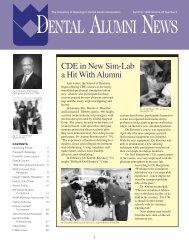 dental alumni news - University of Washington School of Dentistry
