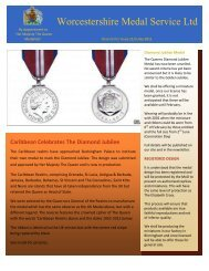 Worcestershire Medal Service Ltd