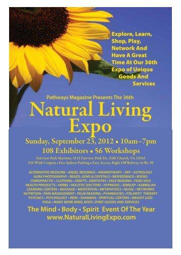 Natural Living Expo - Pathways Magazine