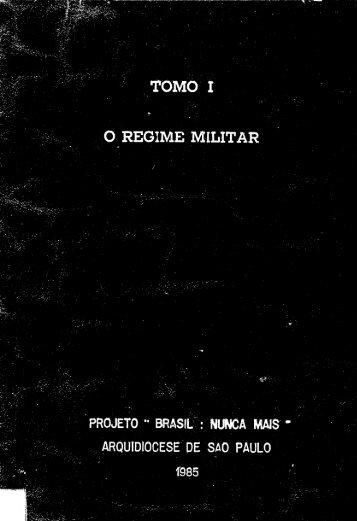 Tomo I – O Regime Militar - DHnet