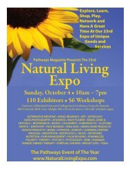 Natural Living Expo - Pathways Magazine