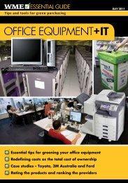 OFFICE EQUIPMENT+IT OFFICE EQUIPMENT+IT - WME magazine