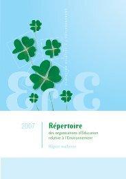 Répertoire 2007 - Réseau IDée
