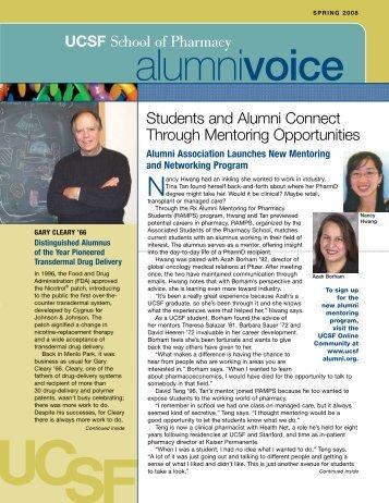 Spring 2008 - UCSF Alumni