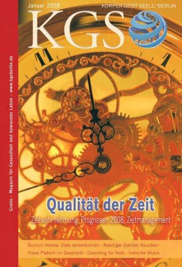 """Das Phänomen """"Zeit"""" - Veranstaltungskalender für Körper Geist und ..."""