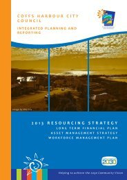 Resourcing Strategy - Coffs Harbour City Council - NSW Government