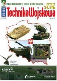Nowa Technika Wojskowa - Special Issue (WRZESIEŃ ... - TELDAT