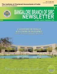 Blore Br_Sept_09_Newsletter_email.pmd - Bangalore Branch of SIRC