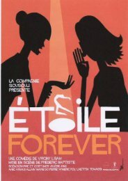 La presse parle d'Etoile forever - Theatre-contemporain.net