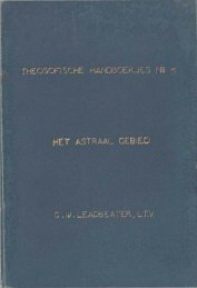 Het astraal gebied, 1899 - Theosofische Vereniging in Nederland