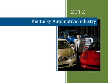 Kentucky Automotive Industry - Kentucky Cabinet for Economic ...