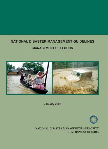 Guidelines for Flood - NDMA