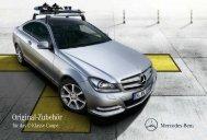 Original-Zubehör für das C-Klassse Coupé - Mercedes
