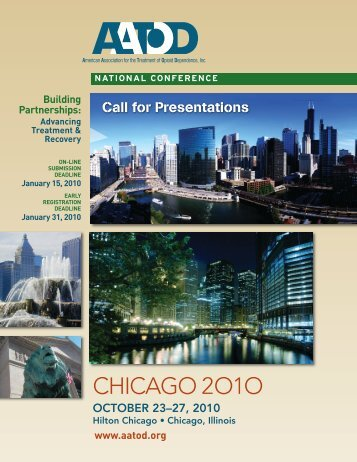 Call for Presentation/Early Registration Brochure - aatod