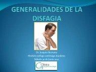 Disfagia esofágica