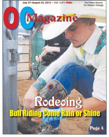 Bull Riding Come Rain or Shine - Fluvanna Review