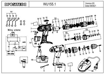 WU155.1 - Worx Power Tools