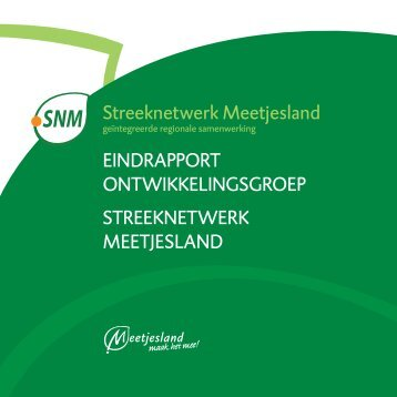 Streeknetwerk Meetjesland EInDrAPPorT ... - Meetjesland.be
