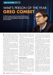 Download PDF - WME magazine