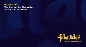 Kurzportrait - Filmnächte auf dem Theaterplatz