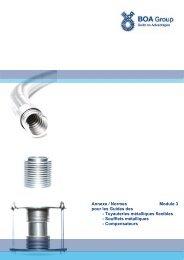 Guide des Tuyaux métalliques Module 3 Annexe ... - BOA Group