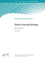 Global Learning Strategy - WSP
