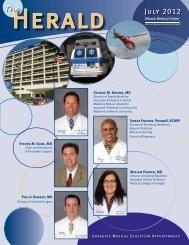 2012 Edition of the Herald - Atlanta Medical Center