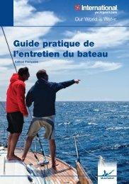 Guide pratique de l'entretien du bateau - Yachtpaint.com