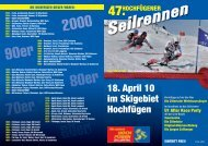 70er 60er 80er 90er 2000 - WSV Fügen