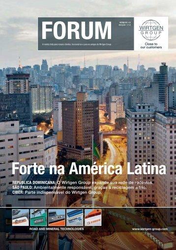 Forte na América Latina - Wirtgen Group