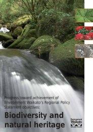Biodiversity and natural heritage - Waikato Regional Council