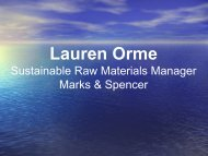 Lauren Orme - CEO Water Mandate
