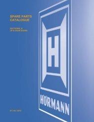 Hormann spares - Sparesmaster