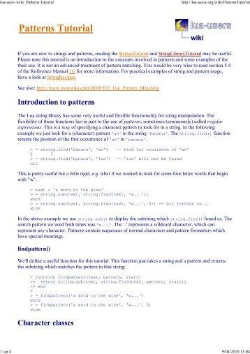 Patterns Tuto.pdf