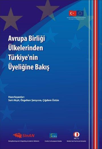 Giriş: Avrupa Gündeminde Türkiye - Avrupa Birliği Genel Sekreterliği
