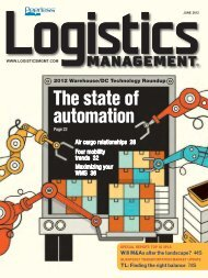 Logistics Management - June 2012