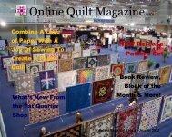 Vol. 3 No. 8 - Online Quilt Magazine.com