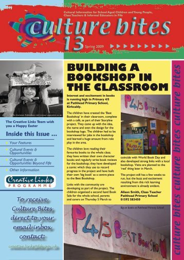 BUILDING A BOOKSHOP IN THE CLASSROOM - Home Page