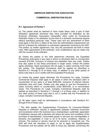 Before the american arbitration association hereafter american arbitration association lima arbitration fandeluxe Images