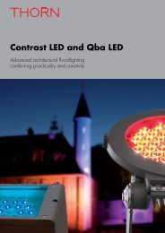 Contrast LED and Qba LED - THORN Lighting